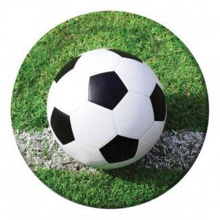 Platos de fútbol 23cm