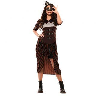 imagen Disfraz de steampunk mujer