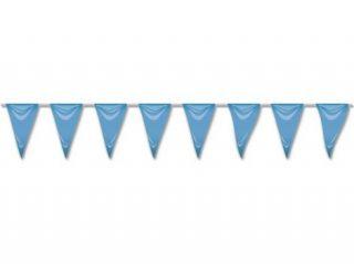 Banderín azul 5mts