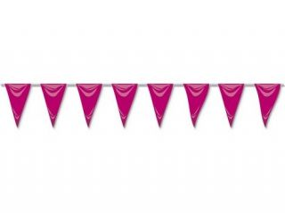 Banderín rosa 5mtrs