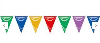 Banderín multicolor 5mtrs