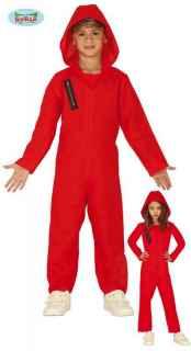 Disfraz de convicto rojo