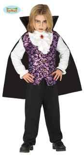 imagen Disfraz de vampiro lila