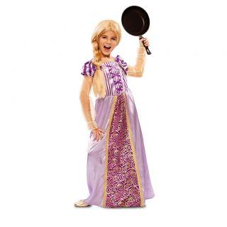 Disfraz de princesa lila (Rapunzel)
