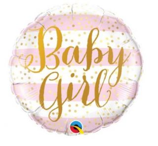 Globo foil baby girl