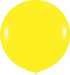 Globo amarillo grande de 90cm