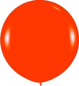 Globo naranja grande de 90cm