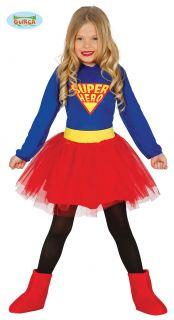 Disfraz de super heroe niña