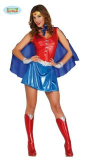 Disfraz de super woman