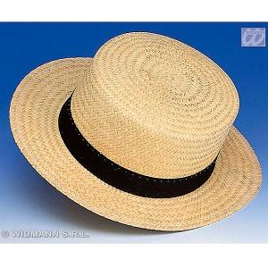 Sombrero chevalier de paja