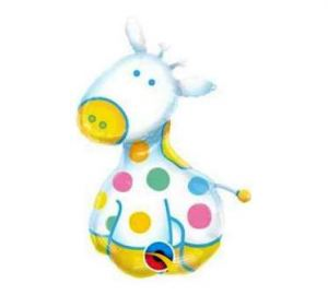 imagen Globo foil jirafa