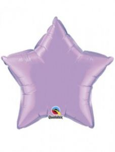 Globo foil estrella lila
