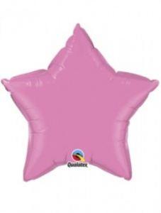 imagen Globo foil estrella rosa