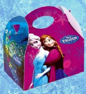 Cajita Frozen llena de golosinas