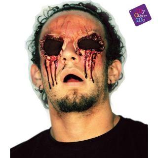 Herida de látex cuencas de ojos