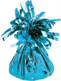 Peso de globos en azul
