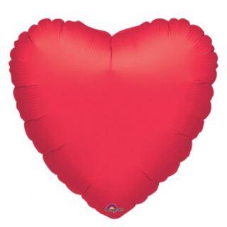 Globo jumbo corazón rojo 32