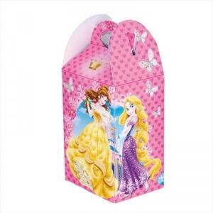Cajita Princesas llena de golosinas
