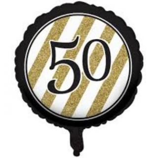 Globo foil nº50 black and gold