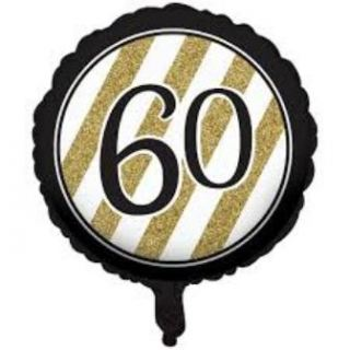 Globo foil nº60 black and gold