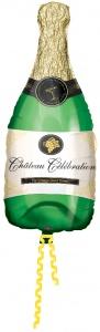 Globo foil botella de champan