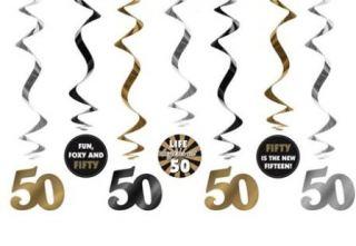 Colgante de 50 cumpleaños