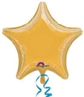 Globo jumbo estrella oro 32