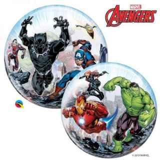 Globo bubble Avengers