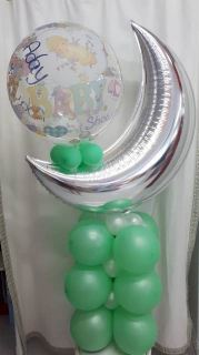Mini columna baby shower