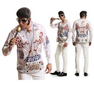 imagen Camiseta disfraz Rey del Rock, Elvis