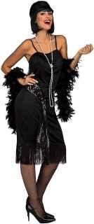 imagen Disfraz de charleston negro