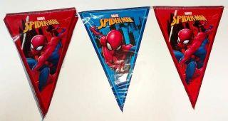 Banderín de spiderman