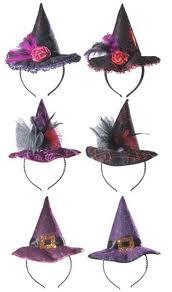 Diadema sombrero bruja