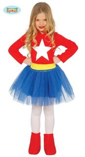 Disfraz de superheroina