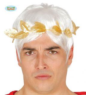 Corona cesar laurel dorado