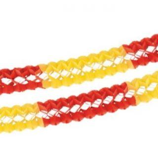Guirnalda amarilla y roja