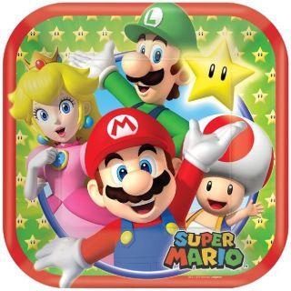 imagen Platos de Super Mario
