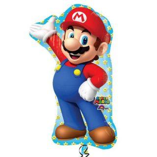 Globo foil Super Mario