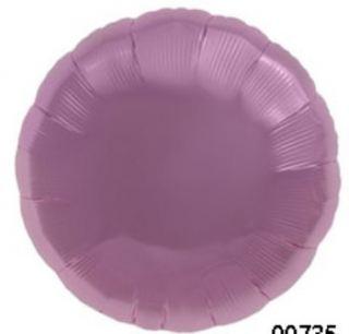 Globo foil circulo rosa pastel