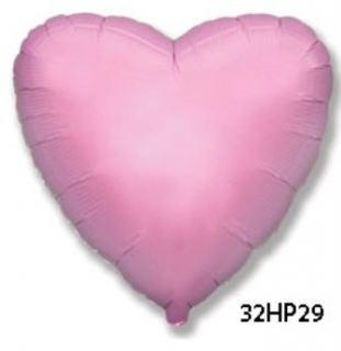 Globo foil corazón rosa claro 32