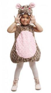 Disfraz de hipopótamo peluche