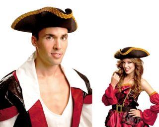Sombrero pirata tres picos