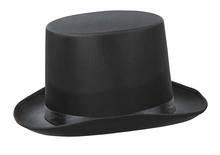 Sombrero de copa  alto