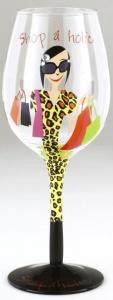 Copa de vino shopaholic