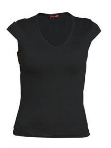 imagen Camiseta negra mujer