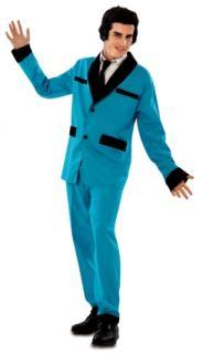 Disfraz rockabilly azul
