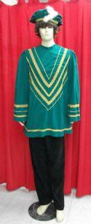 Disfraz de Paje verde