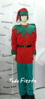 Alquiler de disfraz de elfo
