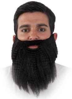 Barba hipster negra