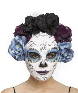 Mascara día de los muertos
